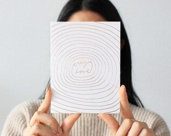 Crazy Love Card
