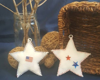 Patriotic Felt Ornaments, Home Living, Home Decor, Room Accent, Decoration
