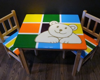Items Similar To Garden Party Children S Table And Chair