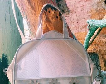 90's Flower power messanger bag
