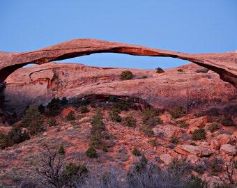Landscape Photography, Landscape Arch Predawn no.2, Fine Art Photography, Wall Art, Nature Photography