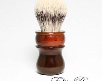 Speckled Amber 26mm Shaving Brush