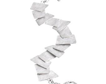 Chaotic Sterling Silver Bracelet