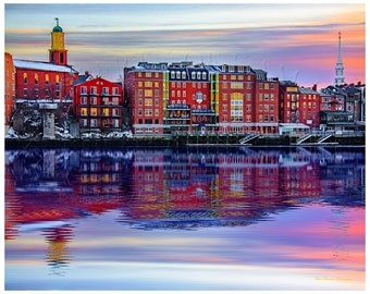 Portsmouth New Hampshire,quintessential New England.