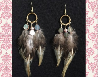 Small feather dangles