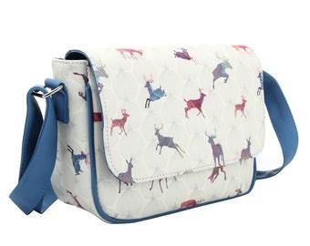 TaylorHe Cross Body Bag Handbag Splendid Stags.