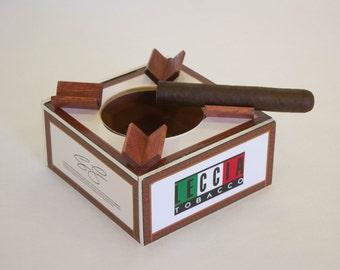 Leccia Cigar Box Ashtray