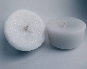 Traditional Pinacolada Candle with Brocade