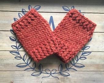 Knitted fingerless gloves for todders, kids, teens & women