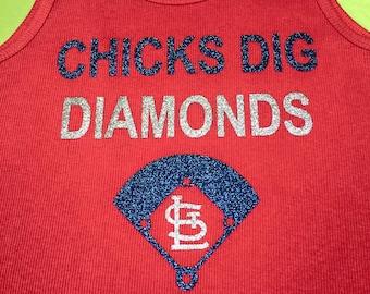 St. Louis Cardinals - Chicks Dig Diamonds