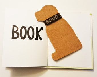 Dog Bookmark,Labrador Bookmark,Dog Lovers Bookmark,Personalized Bookmark,Unique Bookmark,Book Lovers Gift,Custom Bookmark,Handmade Bookmark