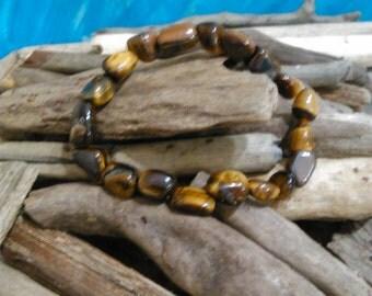 Natural rock  gemstone,stretch bracelet,women gemstone,mineral bracelet