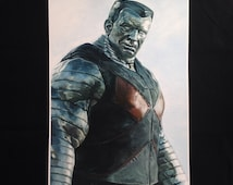 Colossus (Deadpool) LIMITED poster print A3