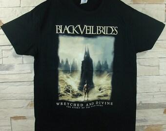 Black Veil, Brides Wretched And Divine, black shirt