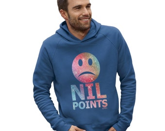 Men's Nil Points Sad Face Hoodie