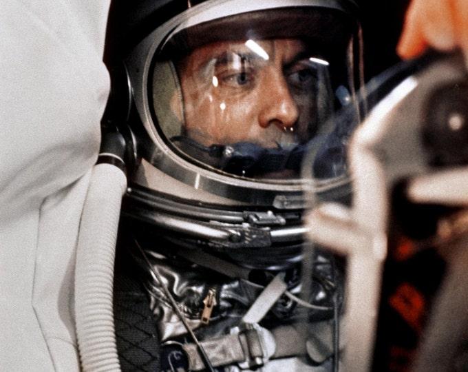 Mercury Astronaut Alan Shepard in Freedom 7 Before Launch - 5X7, 8X10 or 11X14 NASA Photo (EP-495)