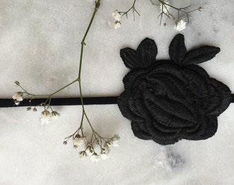 Petite Rose Headband