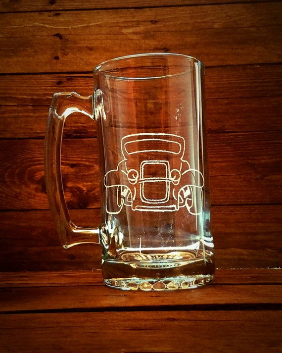Items similar to hot rod mug classic car guy gift for Classic housewarming gifts