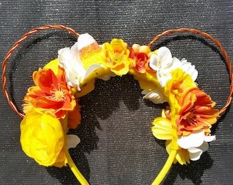 Candy Corn Inspired Ears