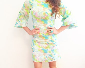 60s vintage mini dress