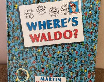 Where's Waldo, book by Martin Handford, vintage 1987