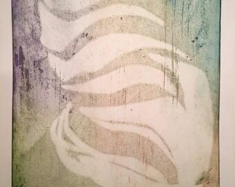 Abstract Sea Shell