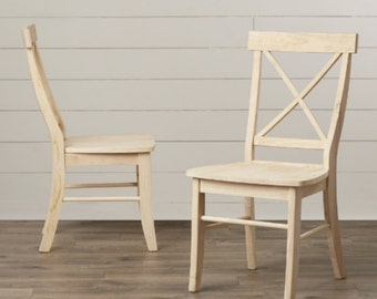 Sawyer style dinning room chair stained to your chose of color