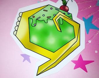 Dessert Kokiri Emerald Magnet