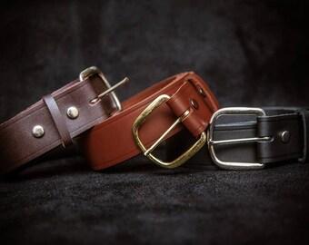 Custom Leather Belt, Men's Belts, Women's Belts