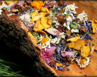 Dried flowers, dry flower petals – wedding confetti. Roses, peonies, wild meadow flowers. 2 cups