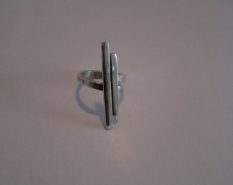 Ring silver - tropic