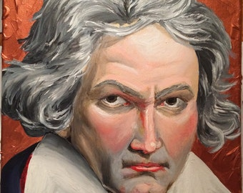 Beethoven Composer Classical Painting