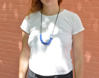the Blue Bean Necklace