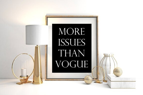 more-issues-than-vogue-fashion-poster