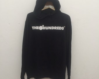 Rare The Hundreds Hoodie Sweater Size L Streetwear 90s