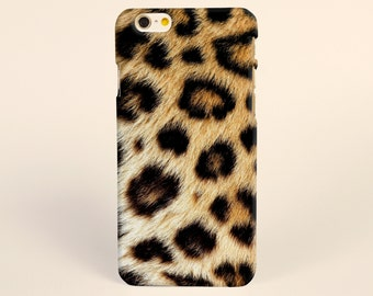 iPhone 7 Case Brown Leopard Pattern, iPhone 7 plus Case, iPhone 6 Plus Case, iPhone 6 Case, iPhone 6s Case, iPhone 6s plus Case, iPhone Case