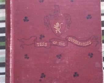 1892 Tess of the D'Ubervilles