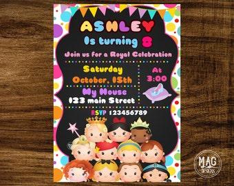 il_340x270.1087291749_rah5 tsum tsum birthday invitation tsum tsum party tsum tsum,Tsum Tsum Invitation