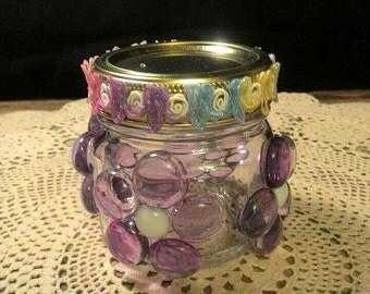 Decorative Luminary Jar