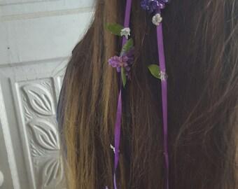 Floral Hair Clips