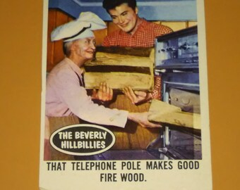 Beverly Hillbillies Vintage card