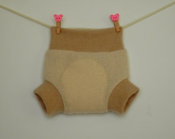 Upcycled wool baby soakers, diaper covers, diapers for newborns