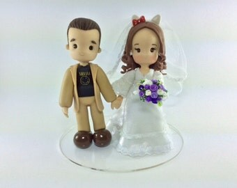 cake topper for wedding, wedding topper, cute topper, customized topper, cute couple