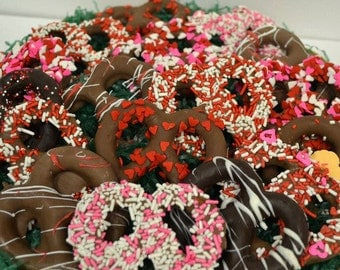 Chocolate Covered Pretzels, 1.5 Pounds