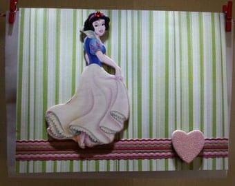 Snow White Note Card