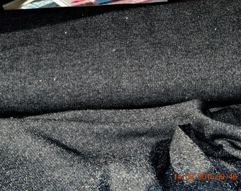 Lille fabric glitter sweat black