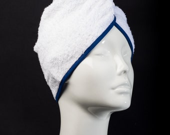 Navy Blue Classic Collection - The Ultimate Hair Towel by Itza Products : Superior Quality Terry cloth