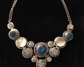 Interchangeable Snap Necklace with Beautiful snaps