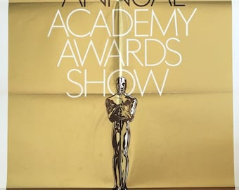 42nd Annual ACADEMY AWARDS 1970 original foil theatrical poster (27x41)