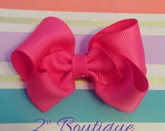 2 inch boutique bow